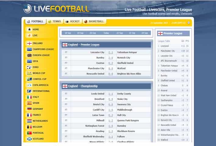 Www Live Football